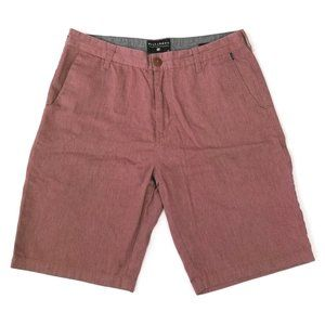 Billabong | Brick Red Casual Chino Walk Shorts 32